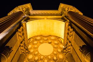 Palace of Fine Arts at Night